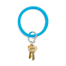 Load image into Gallery viewer, Big O Leather Key Ring