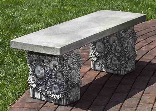 Sunflower Bench