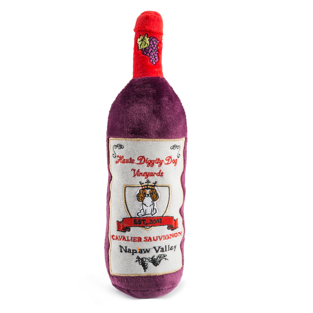 Cavalier Sauvignon Wine Plush Toy