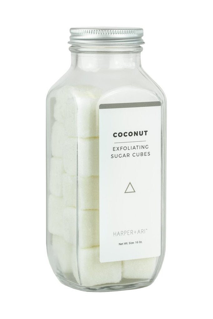Coconut Exfoliating Sugar Cubes Scrub