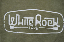 Load image into Gallery viewer, Crew-Neck White Rock Lake Short Sleeve Shirt
