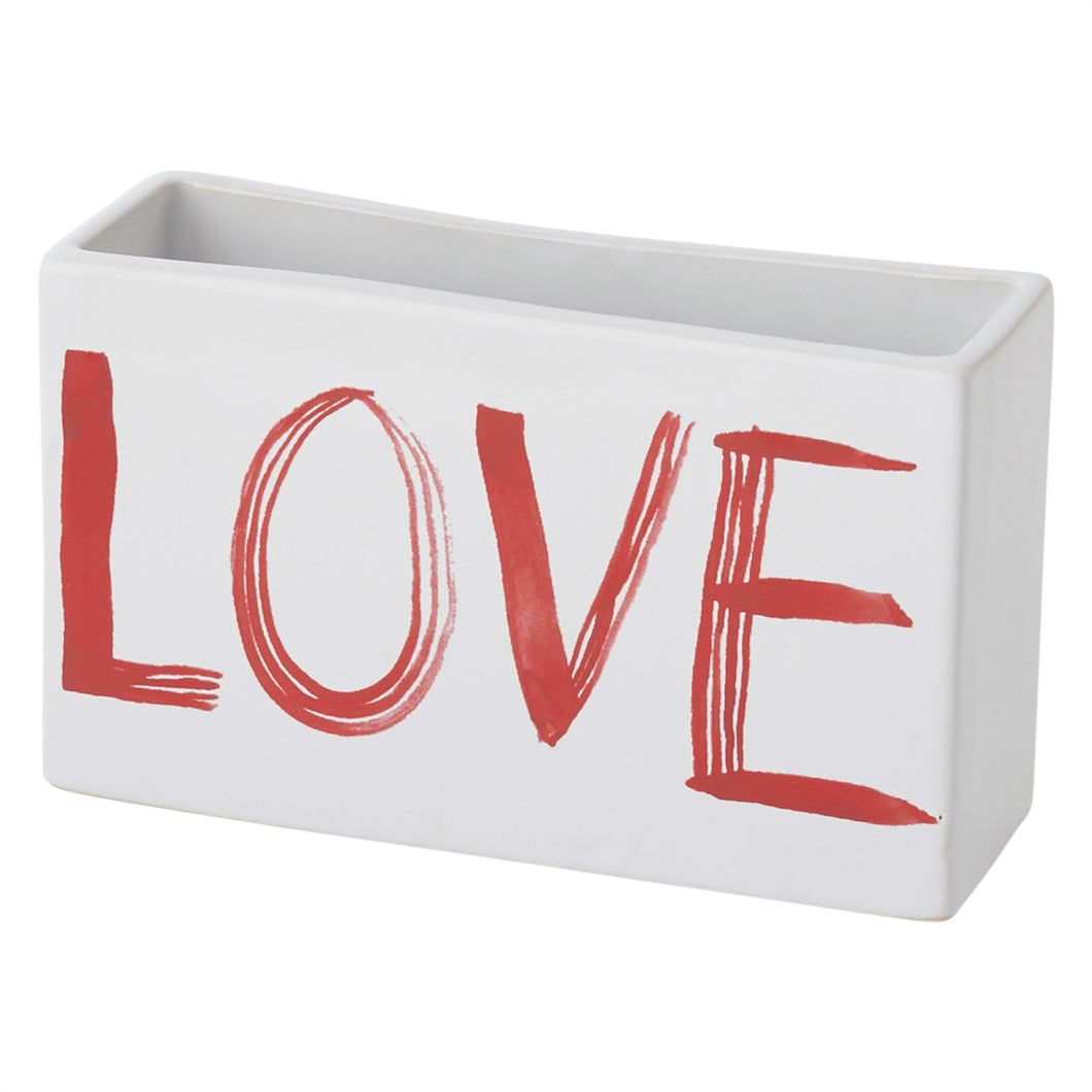 Painted Love Planter 6