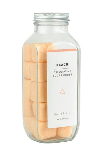 Peach Exfoliating Sugar Cubes Scrub