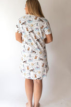 Load image into Gallery viewer, Rescue Dog Pajama Dress