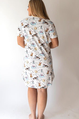 Rescue Dog Pajama Dress
