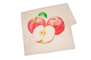 Tea Towel with Apples