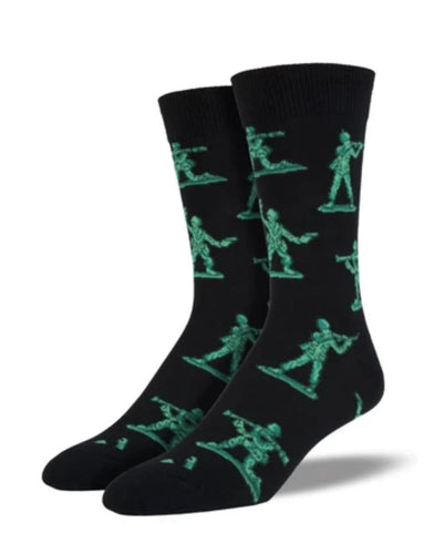 Army Toy Soldier Socks