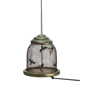 Birds and Bees Beehive Bird Feeder with Extendable Perch