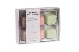 Brunch Exfoliating Sugar Cubes Gift Box