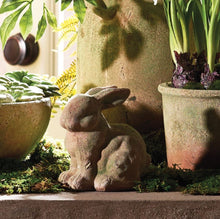Load image into Gallery viewer, Weathered Garden Bunny