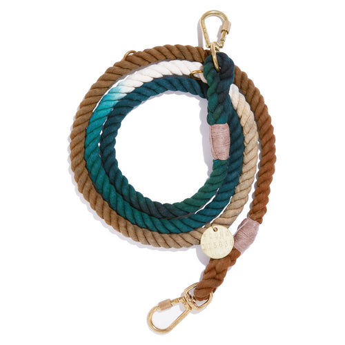 The Catskill Ombre Cotton Rope Dog Leash, Adjustable
