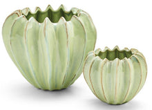 Load image into Gallery viewer, Celadon Gourd Vases