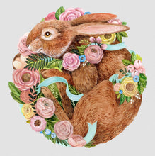 Load image into Gallery viewer, Die Cut Bunny Placemat
