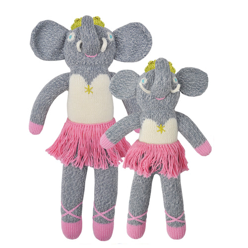 Knitted Doll Josephine the Elephant
