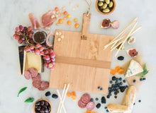 Load image into Gallery viewer, Square Pine Charcuterie Board