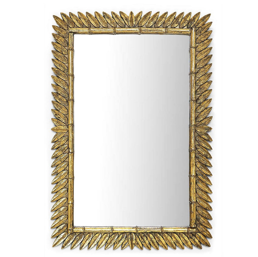 Golden Leaf Mirror