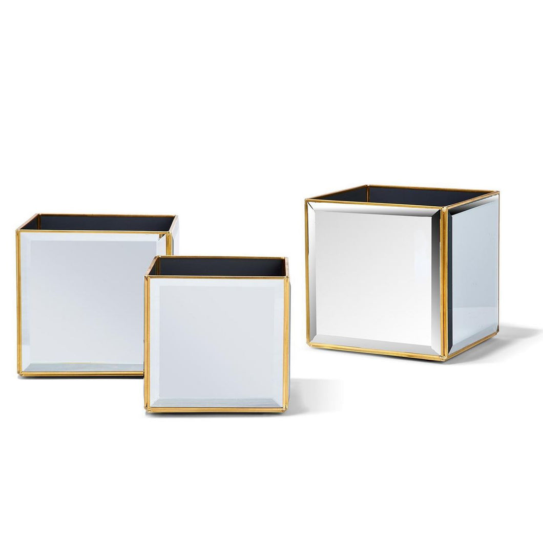 Beveled Mirror Box