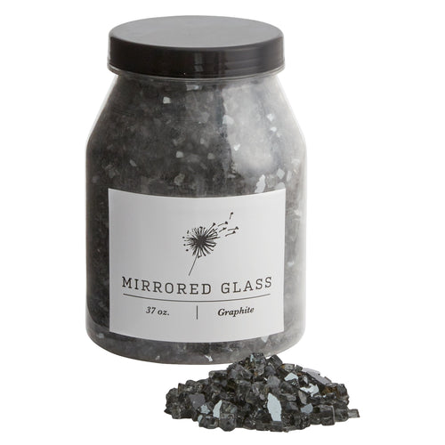 Mirrored Glass - Dark Grey