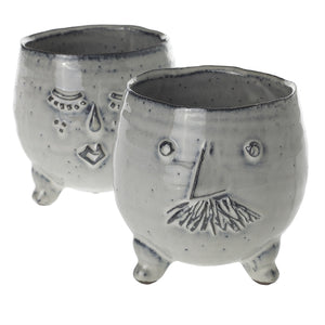 Mr. & Mrs. Clay Pots