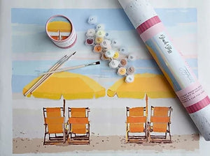 Beach Bliss Paint By Numbers