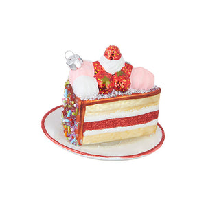 Slice of Cake Ornament