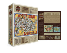 Load image into Gallery viewer, Jigsaw Puzzle American Adventures