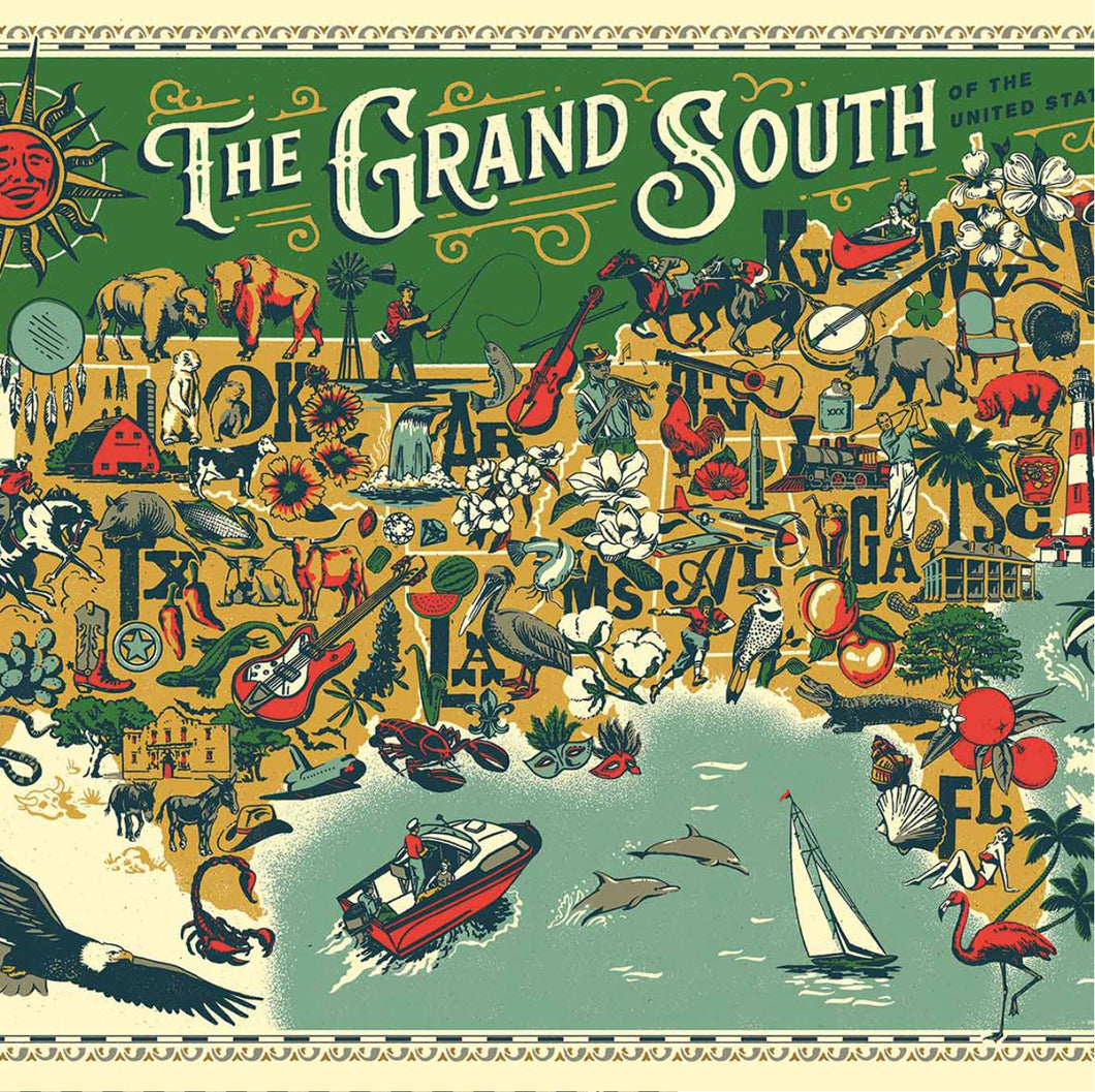 Jigsaw Puzzle The Grand South
