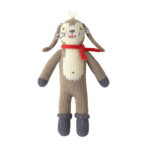 Knitted Rattle Pierre the Bunny