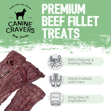 Load image into Gallery viewer, Premium Beef Fillets 5.3 oz Bag