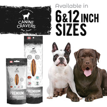 "Load image into Gallery viewer, Premium Beef 6"" Inch Bully Stick Pack of 10"