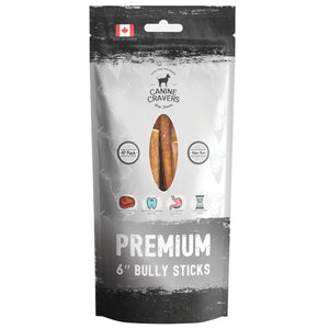 "Premium Beef 6"" Inch Bully Stick Pack of 10"