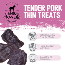 Load image into Gallery viewer, Tender Pork Thins 5.3 oz Bag
