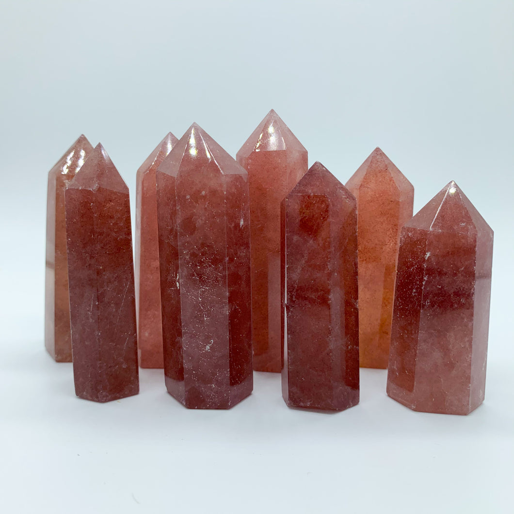 Medium Strawberry Quartz Generator