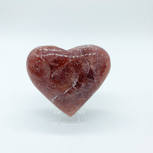Strawberry Quartz Heart