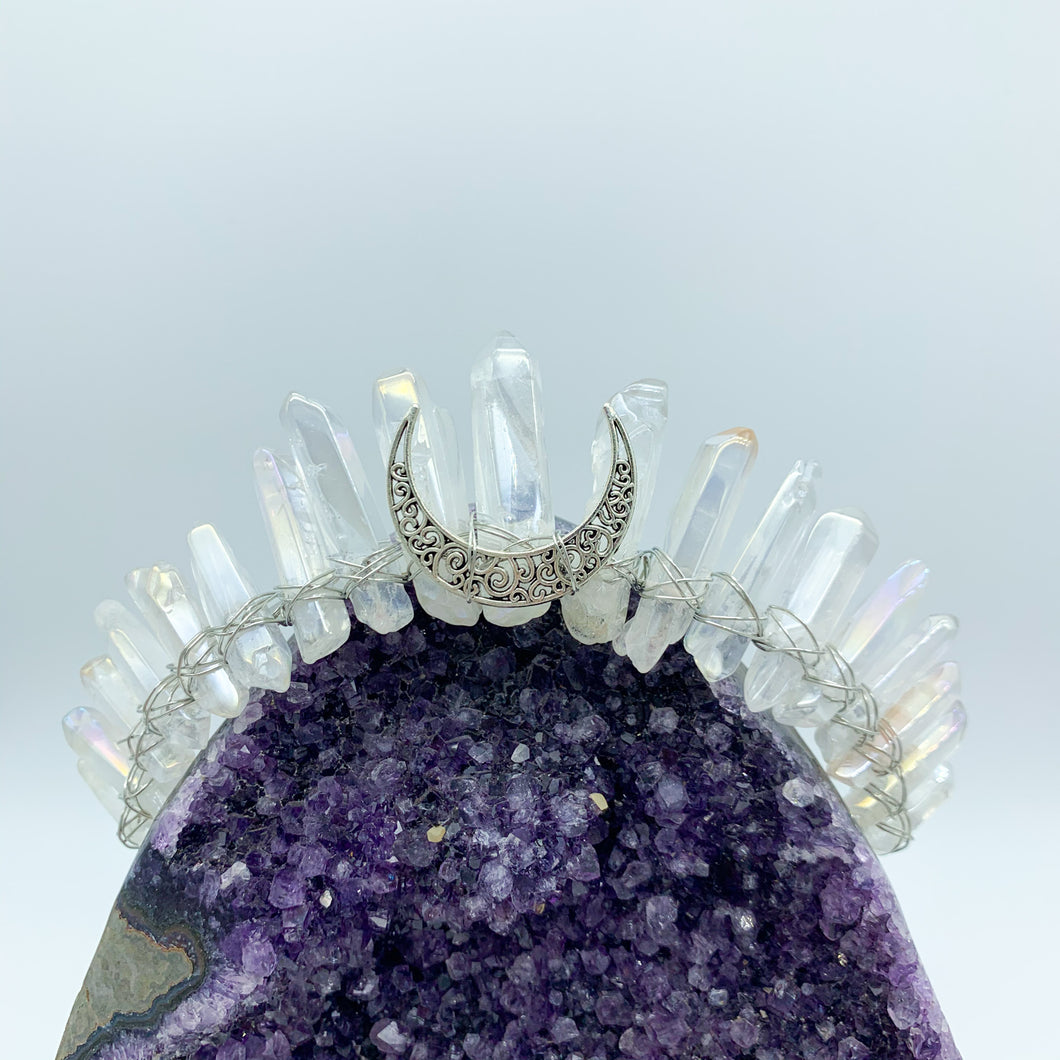 Aura Coated Goddess Crown