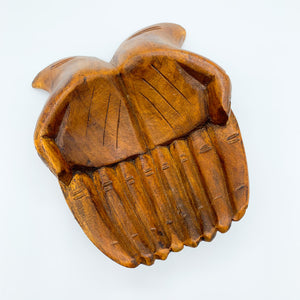 Large Wooden Hand Bowl