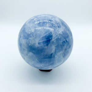 Blue Calcite Sphere