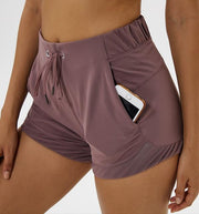 Gym Accessories Online Light purple / L 2020 Tummy Control Yoga Shorts Capris for Women