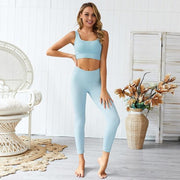 Gym accessories online set Blue set / L 2pc Women Set For Fitness and Yoga Workouts