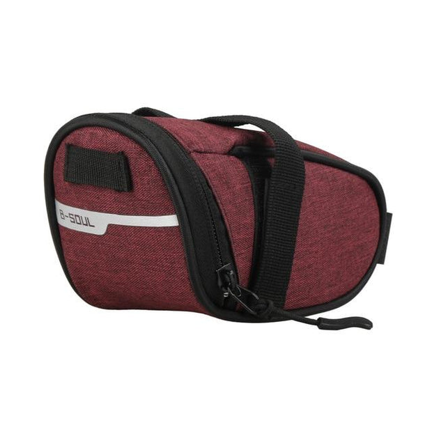 Gym Accessories Online Red B-soul Portable Waterproof Bike Saddle Bag