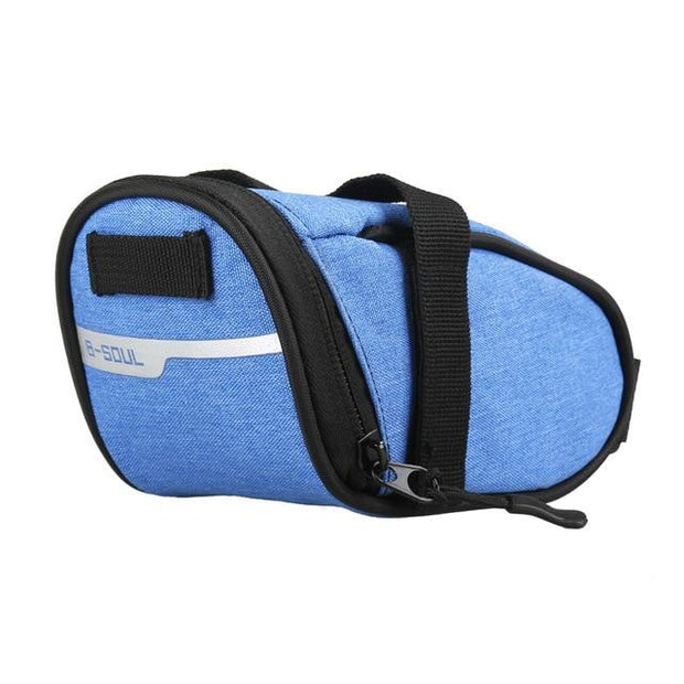 Gym Accessories Online Blue B-soul Portable Waterproof Bike Saddle Bag