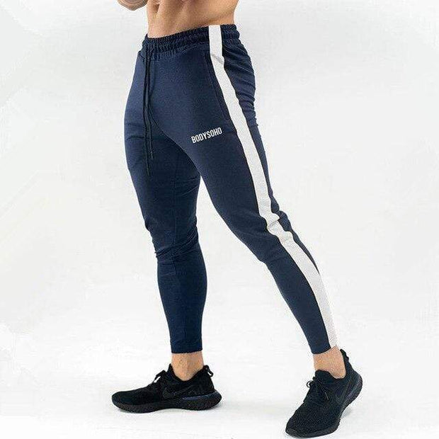 Gym accessories online pants XXL / Navy blue Breathable Joggers Skinny-fit