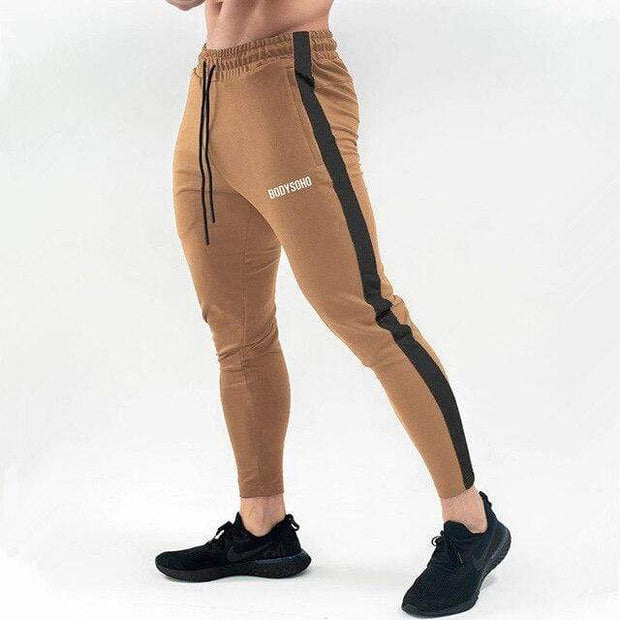 Gym accessories online pants XXL / Khaki Breathable Joggers Skinny-fit