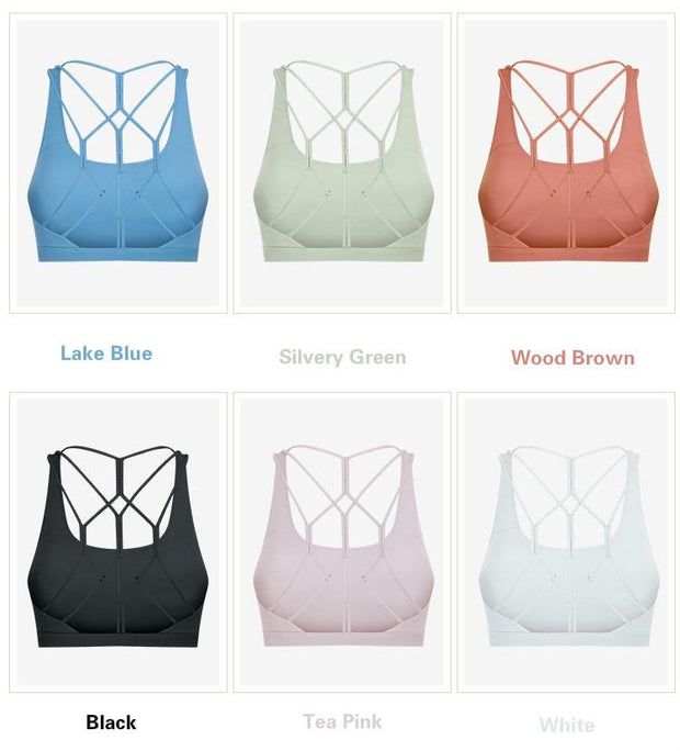 Gym Accessories Online Butter Soft Gym/Yoga Criscross bra