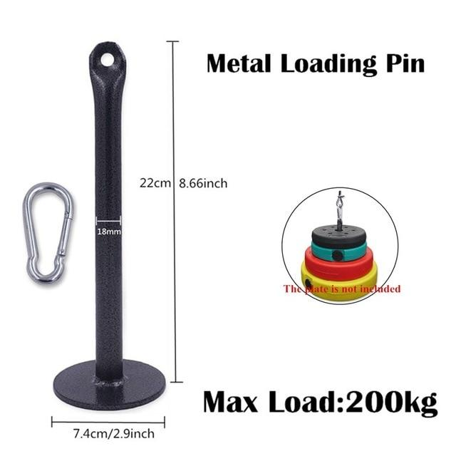 Gym Accessories Online as picture shows 14 Cable Machine Attachments Tricep Rope D-Handle Cable Pully Optional for Gym Fitness Equipment Weight Lifting Workout Accessories