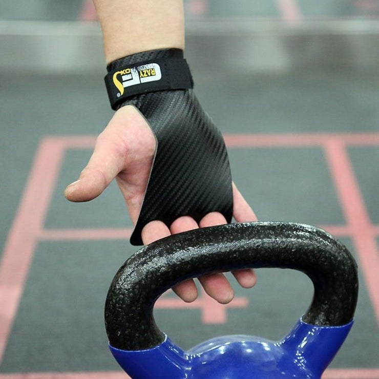 Gym accessories online Gym equipment Carbon Deadlifting Hand Grip with Palm Protection