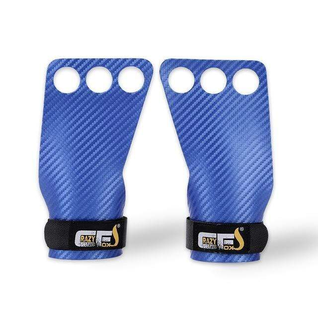 Gym accessories online Gym equipment Blue / Medium Carbon Deadlifting Hand Grip with Palm Protection