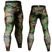 Gym accessories online Tights Green Camo / S Compression Tights for Fitness & Jogging