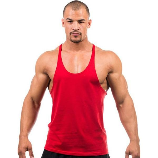 Gym Accessories Online Red / M Daily Fitness Stringer Tank Top