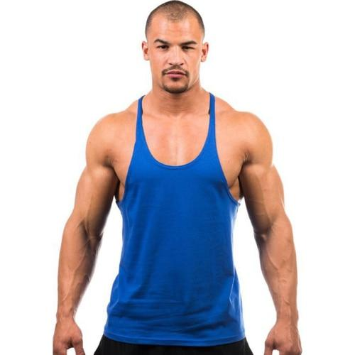 Gym Accessories Online Blue / M Daily Fitness Stringer Tank Top